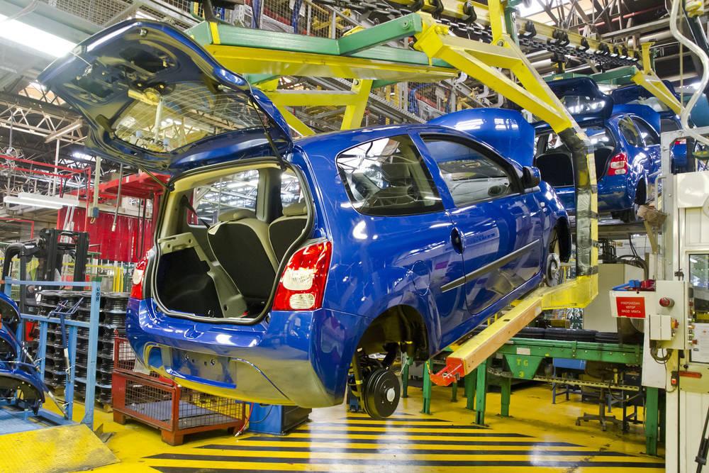 Esplendor del sector del automóvil