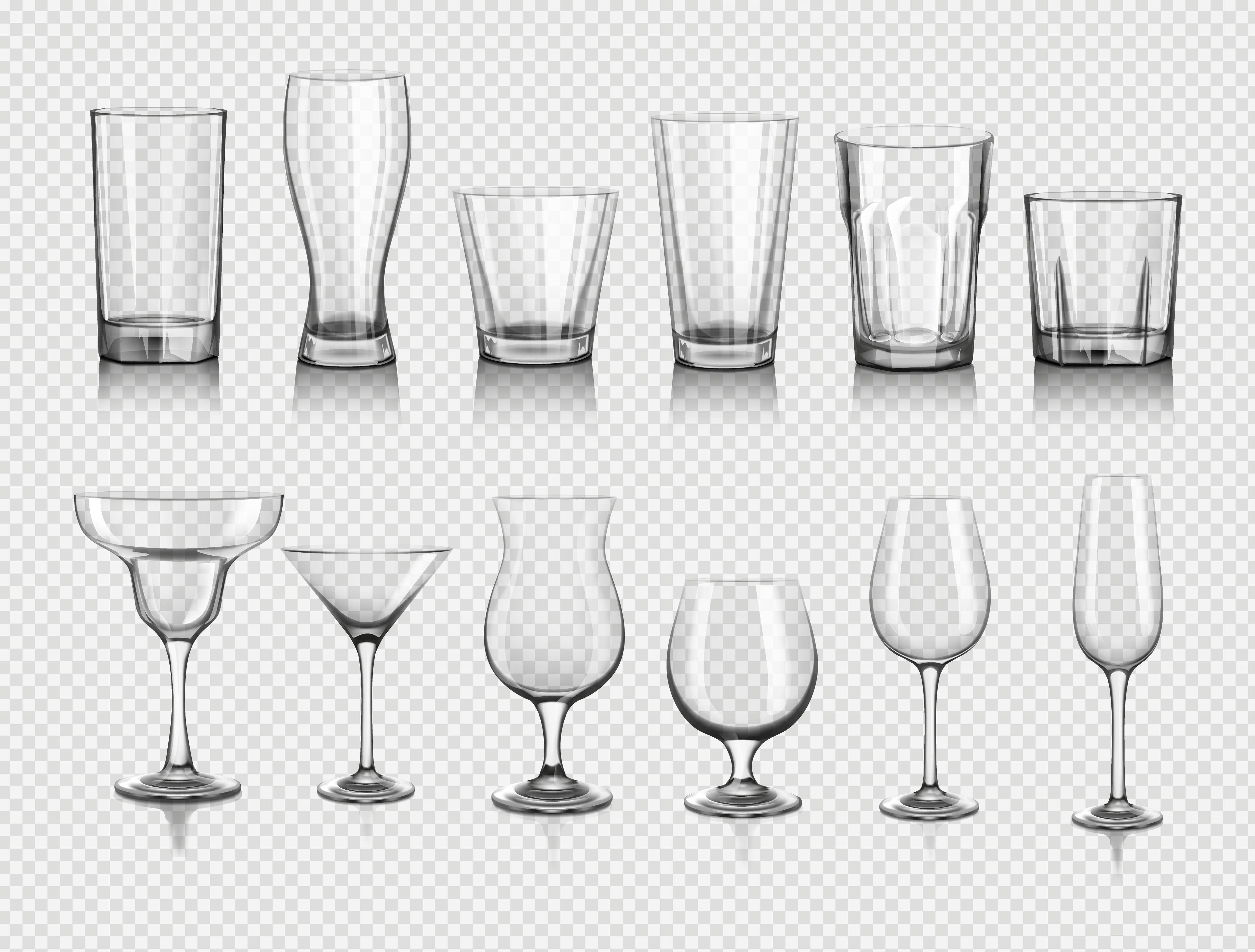 Los vasos más adecuados para un bar